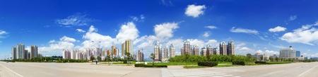 advertising material: Urban landscape, modern city views. Very good advertising material.