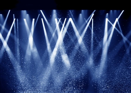 spotlight stage: Vector Stage Spotlight with Laser rays