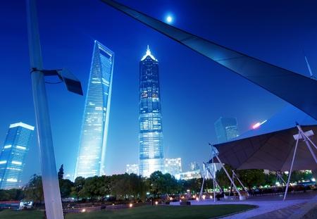 High-rises in Shanghai Stock Photo - 12763894