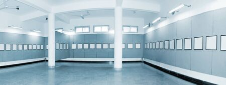 No one in the Hall panoramic Stock Photo - 12904194