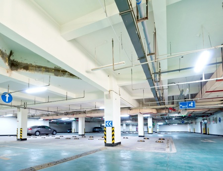 Half empty underground garage or parking Stock Photo - 13179190