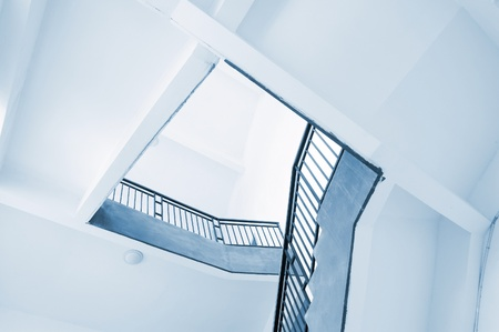 modern interior architecture: Stairs , the modern interior architecture. Stock Photo