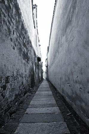 quartzite: Alley south of ancient China, a long history. Stock Photo
