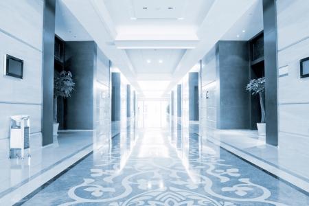 The school corridors, very sense of perspective