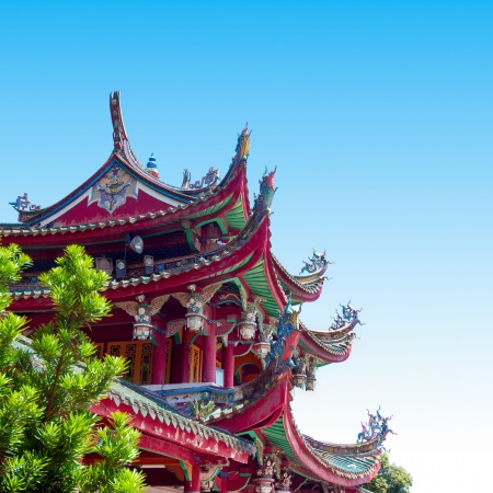 china landscape: Historic Architecture of China. Forbidden City in Beijing, China