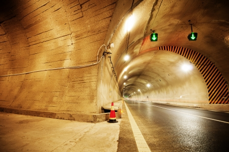 No vehicular tunnel in Shanghai, China
