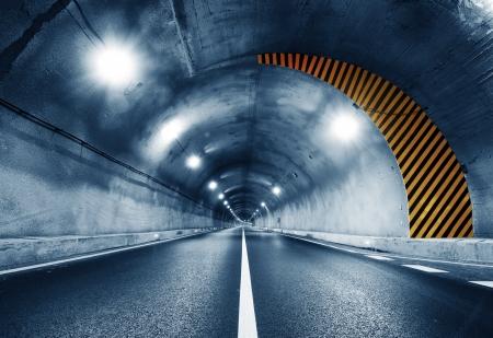 Kein Fahrzeug Tunnel in Shanghai, China. Standard-Bild - 15751379
