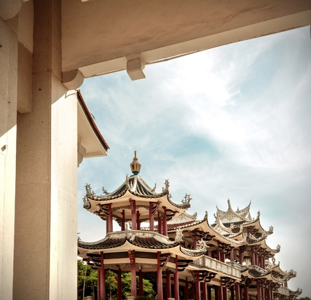 chinese courtyard: Historic Architecture of China  Forbidden City in Beijing, China