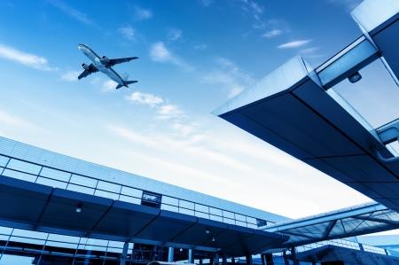 het toneel van T3 luchthavengebouw in Peking China