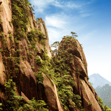 world natural heritage: World Natural Heritage: China Jiangxi Mountains.