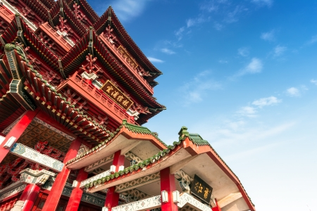 Beijings Chinese ancient architecture, ancient religious sites. photo