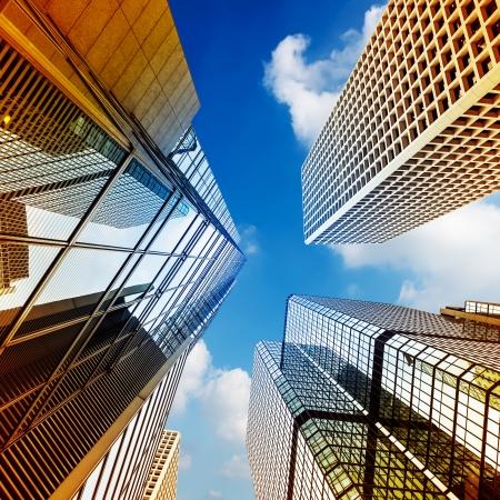 Modern building Landscape in Hong Kong