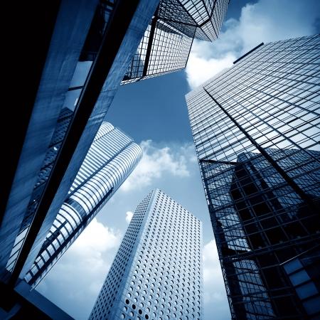 Modernes Gebäude Landschaft in Hong Kong Standard-Bild