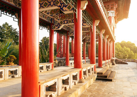 corridors: The corridors of ancient buildings in China