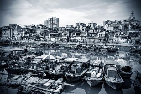 fishing village: China Xiamen small fishing village