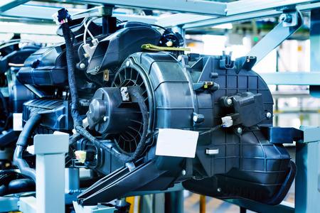 shiny car: Car Engine - Modern powerful car engine(motor unit - clean and shiny