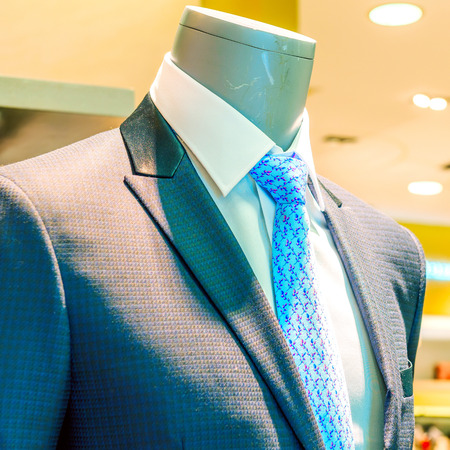 lapels: Suite on the mannequin