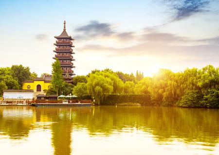 China Jiaxing scenery Stockfoto