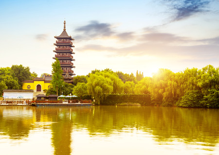China Jiaxing scenery Banque d'images