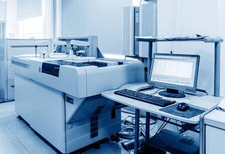 biochemical: Hospital laboratories, automatic biochemical analyzer Editorial