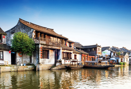 china: Xitang ancient town