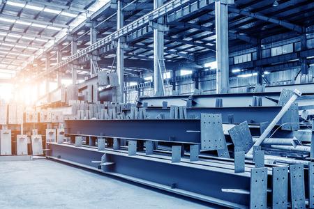 Große Stahlverarbeitungsbetrieb Standard-Bild - 44437993