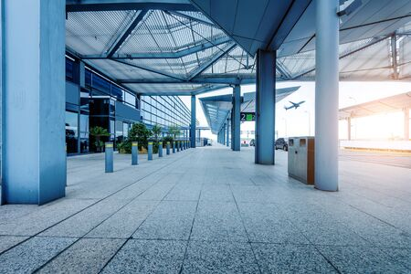 business building: Shanghai airport  Editorial