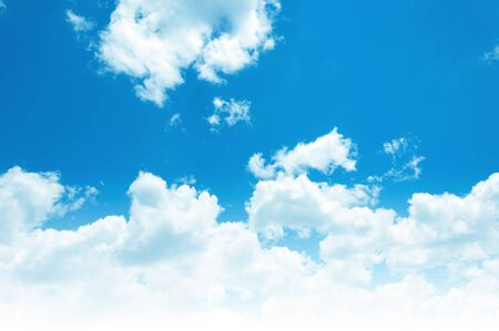 atmospheres: clouds in the blue sky