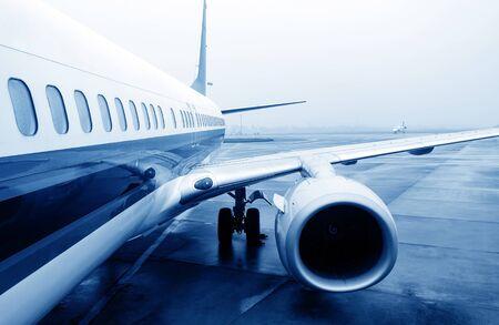 latest: Aircraft China Shanghai airport tarmac Stock Photo