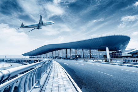 on off: China Nanchang Airport T2 location Editorial