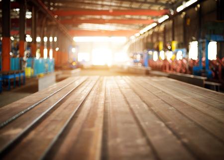heavy joist: Steel warehouse