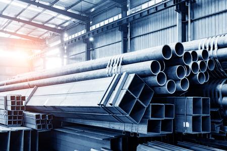 Grote staalfabriek warehouse