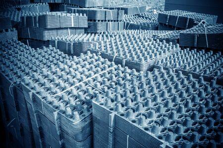materiales de construccion: Para la construcción de un tablero de aguas residuales