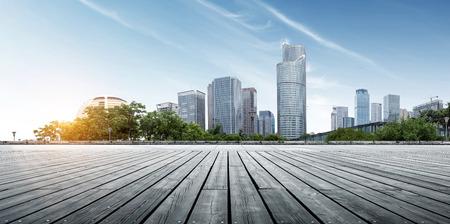 Modern buildings in Hangzhou China 写真素材