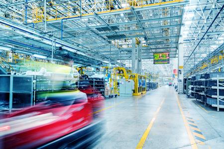 JIANGXI CHINA-September 4,2017,Jiangxi Nanchang Jiangling Motors Group Co., Ltd. Automotive Production Line. Editorial