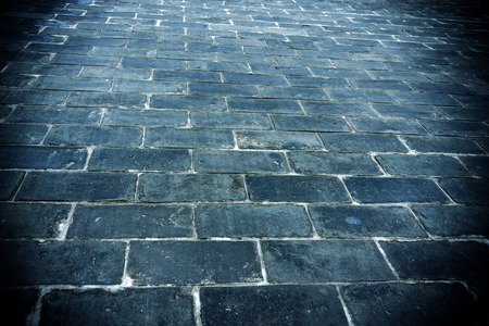 Floor tiles of the ancient city wall of the Ming Dynasty