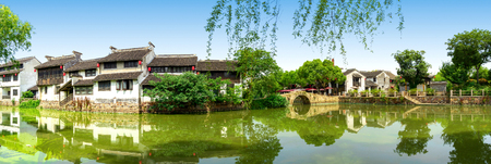 Wuxi, a famous water town in China 免版税图像 - 107066934