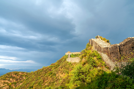 greatwall the landmark of china and beijing Stock Photo