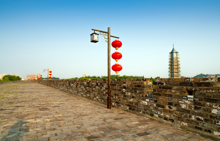 ancient city wall, zhonghua gate,Nanjing,China Stock fotó - 115304877