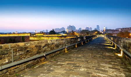 ancient city wall, zhonghua gate,Nanjing,China