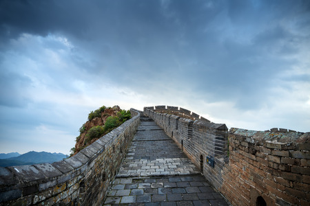 great wall, the landmark of china.