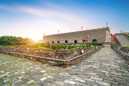 ancient city wall, zhonghua gate,Nanjing,China