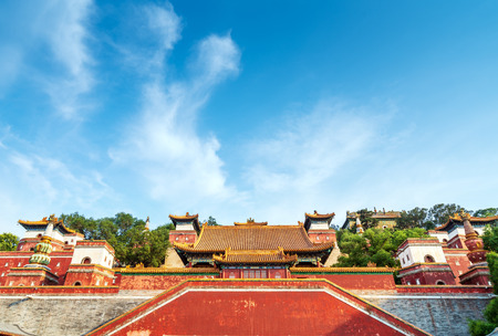 Ancient buildings of the Summer Palace in Beijing, China. Sajtókép