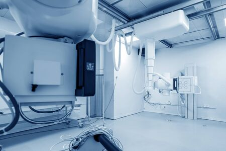 Hospital X-ray machine for fluoroscopy Stok Fotoğraf
