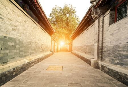 Traditional architecture and alleys in Beijing