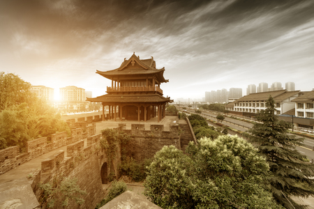 Ancient City Building, Shaoxing, Zhejiang, China