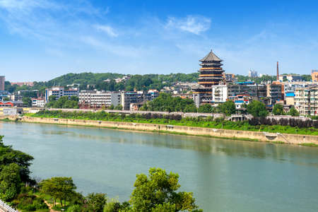 Jingdezhen City, China, is a world-famous porcelain producer.