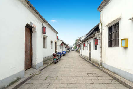 Traditional architecture and alleys in Hangzhou