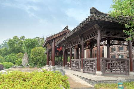 Located in Shouxihu Chinese Classical Garden, Yangzhou, Jiangsu. Redactioneel