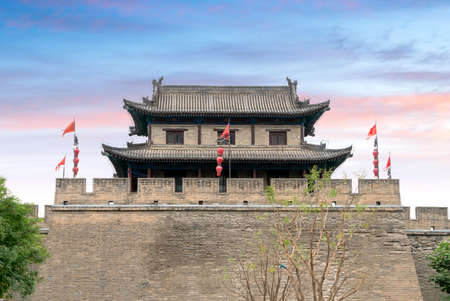 Xi'an City Wall is the most complete ancient city wall in China.